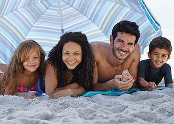 family large umbrella